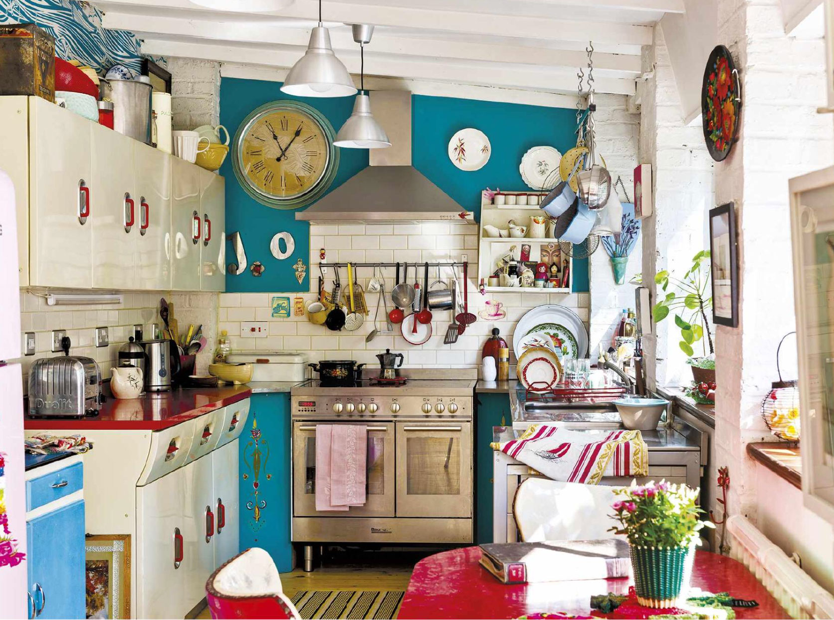 How to give your old kitchen a new look on a budget for Kitchen cabinets 50 style